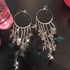 [Bebe] Peacock Earrings
